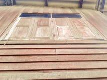 木视窗 图库摄影