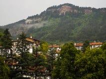 木议院,雨天 免版税图库摄影