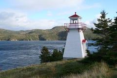 木质灯塔的点 库存图片
