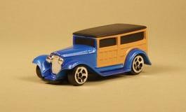 木质32辆汽车的玩具 库存照片