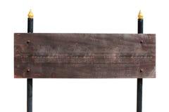 木路标 免版税图库摄影