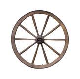 木轮子 免版税库存图片