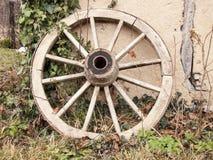 木轮子 库存照片