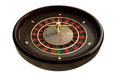 木轮盘赌的赌轮 图库摄影