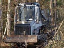 木运输的机器 图库摄影