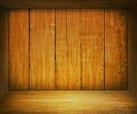木配件箱的oke 库存照片