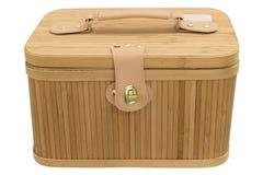 木配件箱 库存图片