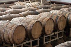 木酒精桶 库存图片