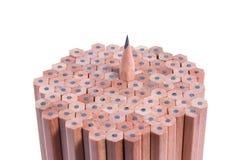 木铅笔 免版税库存图片