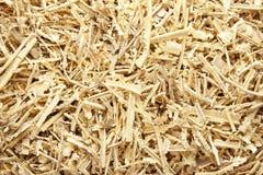 木锯木屑和削片 库存照片