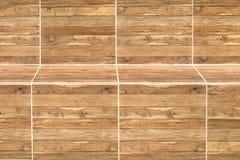 木长凳纹理背景 库存图片