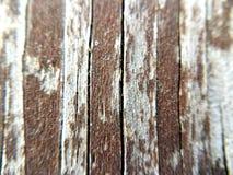 木长凳 免版税库存图片