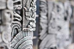 木雕塑 免版税库存图片