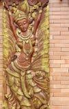 木雕塑 图库摄影