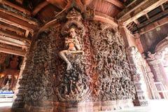 木雕刻 免版税库存图片