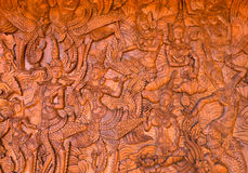 木雕 免版税图库摄影