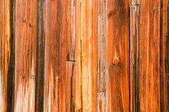 木雪松老的板条 库存照片