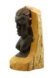 木非洲的雕象 免版税图库摄影