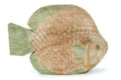 木鱼小雕象 库存图片