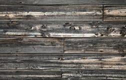 木黑暗的老纹理的墙壁 免版税图库摄影