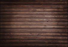 木黑暗的面板 免版税库存图片