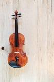 木经典小提琴 图库摄影
