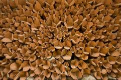 木柴在Leh 库存图片