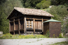 木结构 库存照片