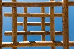 木结构 免版税图库摄影