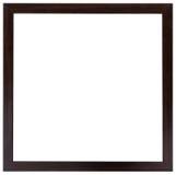 木黑框架 平的设计 免版税库存照片