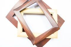木画框 库存照片