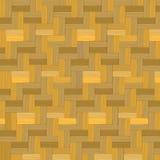木织法,竹篮子纹理背景 库存例证
