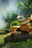 木头的气味 免版税库存图片