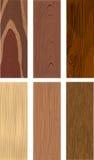 木头的照片拟真的类型 库存图片