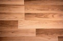 木头的董事会接近的地板被碾压的纹理 库存图片