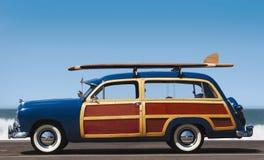 木质的配置文件 免版税图库摄影