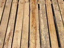 木货盘 免版税库存图片