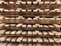 木货盘 图库摄影