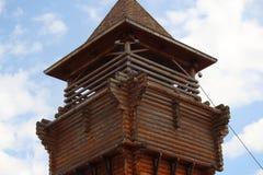 木建筑学 库存照片