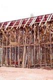 木建筑 库存图片