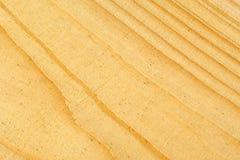 木头纹理,淡黄色 库存照片