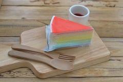 木头艺术的面包店  免版税库存照片