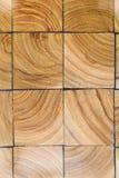 木刻路面纹理 抽象自然木背景 库存图片