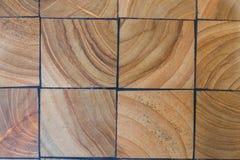 木刻路面纹理 抽象自然木背景 免版税库存图片