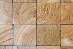 木刻路面纹理 抽象自然木背景 免版税库存照片