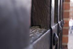 木头遇见金属 免版税图库摄影