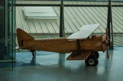 木头飞机  库存图片