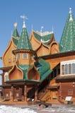 木kolomenskoe的宫殿 库存图片
