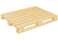 木palett 向量例证
