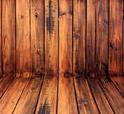木walls2。 库存图片